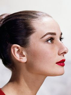 Audrey & her red lips