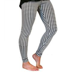 Official Gameday Houndstooth Leggings | Sports Fanatics HQ