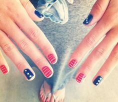 4th of July Nails @Luuux