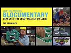 How do people become LEGO Master Builders? What do they study? This is LEGO Master Builder Steve Gerling's unique story.