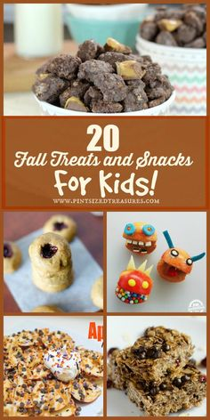 20 Fun fall treats and snacks for kids