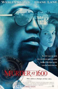 Murder at 1600 (1997) Original Movie Poster