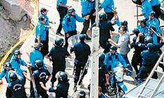 Serenos de Miraflores y Lima protagonizan batalla campal por retiro de avisos