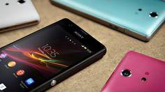 Wallpaper sony, mobile, xperia, zr, colour, phones