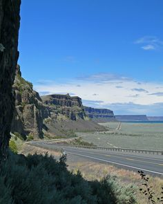 The Grand Coulee. Scablands, Washington.