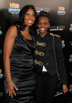 Cookie JOHNSON and daughter