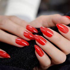 Simple and Elegant Dip Powder Nail Designs – Global Transitional Care Uv Nails, Glue On Nails, Stiletto Nails, Gel Nail Polish, Pink Nails, Manicure, Nail Nail, Red Nail, Acrylic Nails