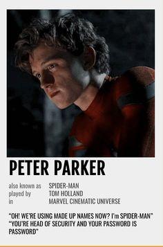 Peter Parker Polaroid Poster