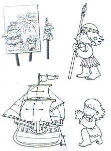 48 Mejores Imágenes De Dibujos De Carabelas 12 De Octubre 1492