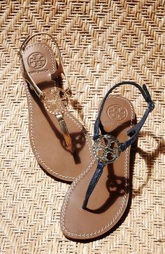 Obsessed with these Tory Burch sandals!