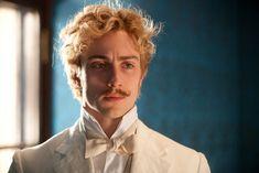 "Aaron Taylor-Johnson as Count Alexei Vronsky in ""Anna Karenina"" (2012)"