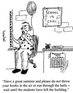 Teacher humor last day of school Teacher Humour, Teacher Cartoon, Math Humor, Math Jokes, Teacher Comics, Math Cartoons, Math Comics, Teacher Posters, Nurse Humor