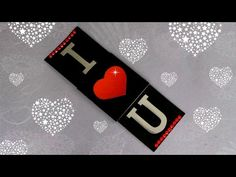 DIY - MAGIC DOUBLE SLIDER CARD - TUTORIAL / VALENTINE'S DAY CARD IDEAS / DIY CARD - YouTube