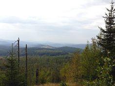 Auf dem Weg zum Siebensteinkopf Blick in den Böhmerwald - Tschechien Mountains, Nature, Travel, Czech Republic, Rocks, Hiking, Stones, Voyage, Viajes