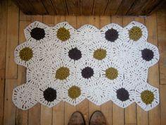 hexagon bathmat