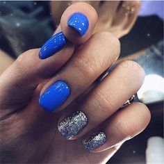 There must be your favorite nail ideas in 140 classic nail designs. - Page 106 of 139 - Inspiration Diary Blue Gel Nails, Shellac Nails, Manicures, My Nails, Nail Manicure, Acrylic Nails, Classic Nails, Dipped Nails, Stylish Nails