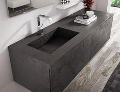 Lounge LAM by Progetto bagno Sink Vanity Unit, Bathroom Vanity Units, Bathroom Furniture, Large Bathrooms, Bathroom Design Small, Bathroom Interior Design, Bathroom Renovations, Flooring, Fade Color