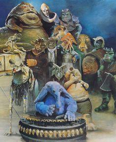 """The """"Original"""" Max Reebo Band, in Jabba's Palace"""