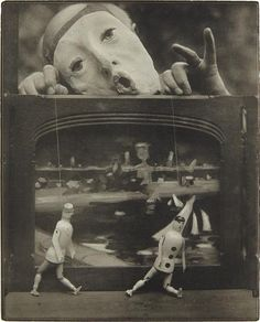 PHILLIPS : NY040215, Pierre Dubreuil The Play of Life (self portrait) c. 1930