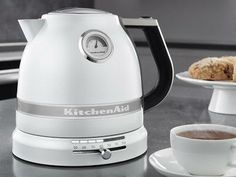 Pearl White KitchenAid Electric Kettle ~ 10 Cook's Tools You'll Keep Forever