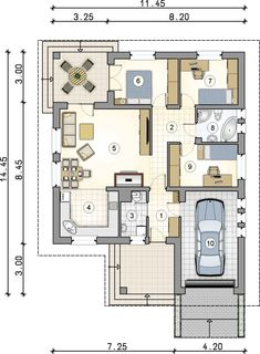 Building A House Quotes Funny Key: 8244874690 Indian House Plans, Best House Plans, Dream House Plans, Small House Plans, House Floor Plans, Bungalow House Plans, Bungalow House Design, Bedroom House Plans, Minimalist House Design