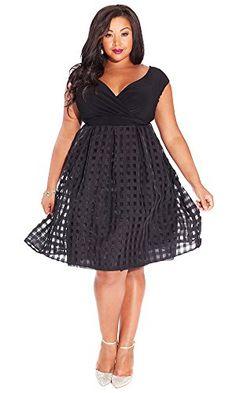 Fashion Bug Womens Plus Size Adelle Dress. www.fashionbug.us #plussize #FashionBug