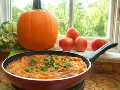 Pumpkin and Raisin Breakfast Skillet Pie #recipe   Carefree Cooking Magazine