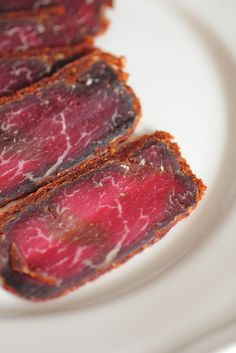 Cured breakfast meat (Pastirma).  I love Pastirma mixed in with scrambled eggs for breakfast.