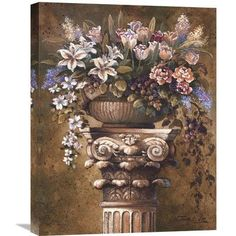 Global Gallery 'Victorian Romance I' by James Lee Original Painting on Wrapped Canvas Size: