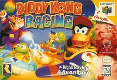Old school video games: DIDDY KONG RACING. Repin if you remember!