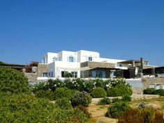 Paros villa rental Sleeps 14 Paros, Swimming Pools, Greece, Villa, Smoke, Mansions, Luxury, House Styles, Holiday
