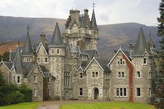 Ardverikie House, Balmoral, Scotland - as seen in Monarch of the Glen and Salmon Fishing in The Yemen