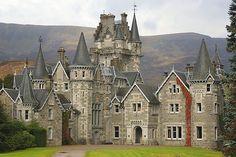 Ardverikie House – Loch Laggan, Scottish Highlands