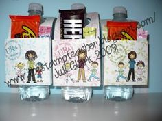 diy bottled water gifts - Google Search