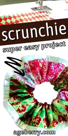 DIY scrunchies were all the rage in the 90s, and now they're back! This how-to will show you everything you need to know about making your own scrunchies. This is an easy beginner sewing project. You'll be able to make them out of any fabric or material that's on hand for some quick crafting fun. Follow these easy steps and watch this video tutorial so you can get started today! Sewing For Beginners Diy, Sewing For Dummies, Sewing Basics, Easy Sewing Patterns, Sewing Tutorials, Easy Projects, Scrunchies, Make Your Own, Super Easy