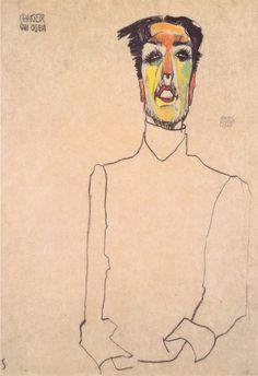 Sänger van Osen, 1910 -Egon Schiele via wiki