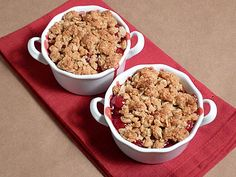Mini Cherry Cobblers
