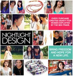 NightLight Design | Bringing hope to sexually exploited women and children in Thailand through jewelry.
