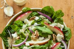 Spinach Salad with Pears, Walnuts and Goat Cheese | Whole Foods Market