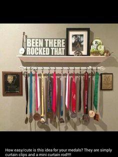 Shelf with bar below it