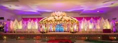 Marriage Decoration, Wedding Stage Decorations, Engagement Decorations, Flower Decorations, Hall Decorations, Indian Wedding Favors, Big Fat Indian Wedding, Indian Weddings, Wedding Mandap