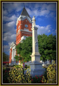 The beautiful Bulloch County Courthouse! - Photo by Max Alderman