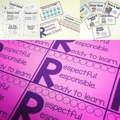 Behavior Management punch cards and rewards for Speech Therapy