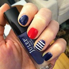 oallie's festive tips. Show us your 4th of July-inspired nails! Tag your pic #SephoraNailspotting to be featured on our social sites.