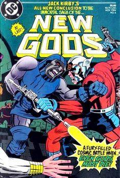 Jack Kirby New Gods Issue #6 Darkseid vs Orion Even Gods Must Die (1984)