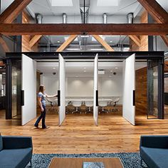 Tolleson Corporate Office - Warm Wood Tones