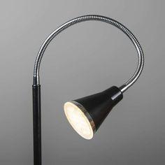 Stehleuchte Funnel LED schwarz #Stehleuchte #Leselampe