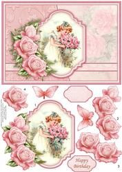 Scent of Roses Card Topper & Decoupage