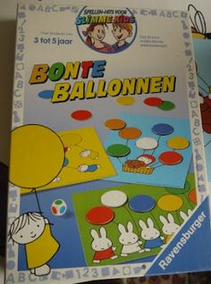 Villa speelmama: Bonte ballonnen
