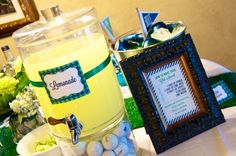 Preppy Golf Themed Baby Shower